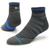 Stance M's Uncommon Solids Qtr Socks Black